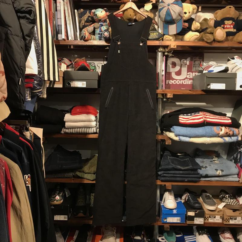 Levi's ski corduroy overall (Black)