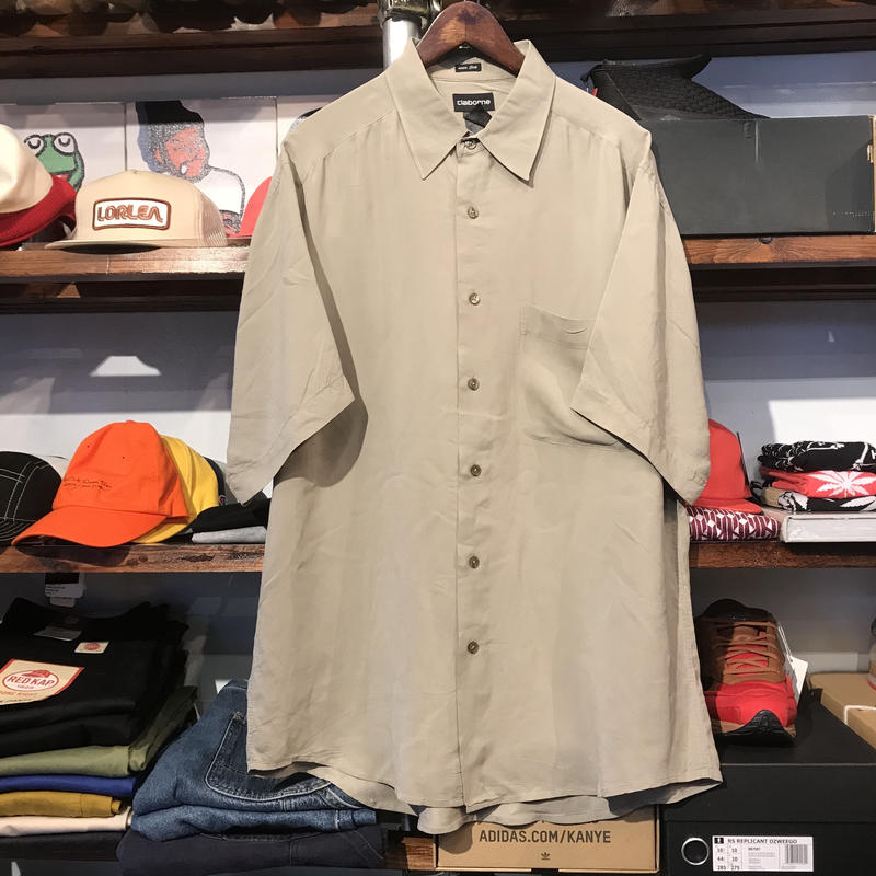 Claiborne silk shirt (L)