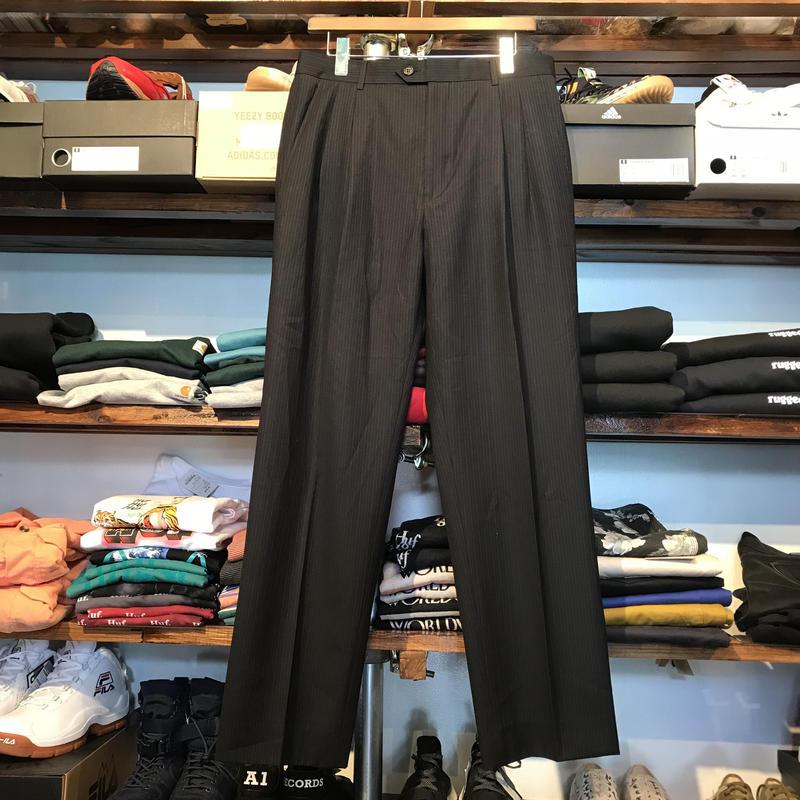 GIORGIO ARMANI stripe slacks (32)