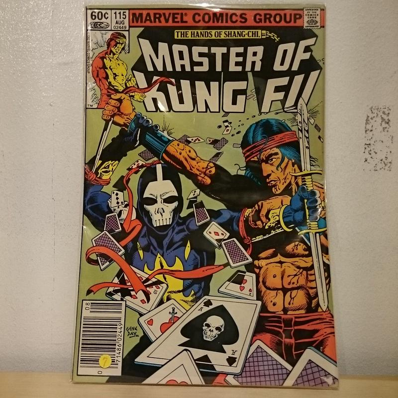 "MARVEL COMICS""MASTER OF KUNG FU""(7)"