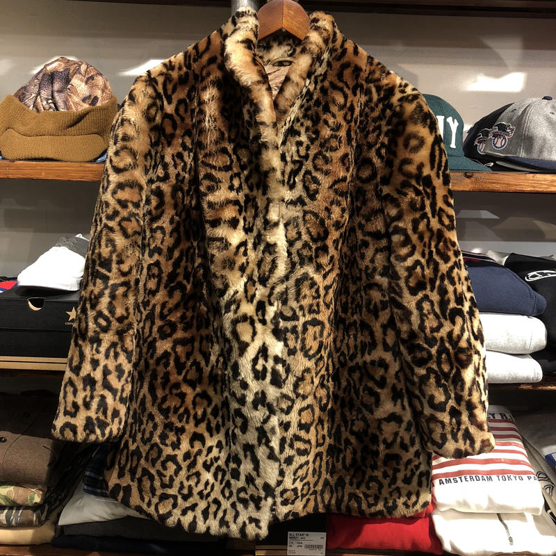 nobrand leopard coat