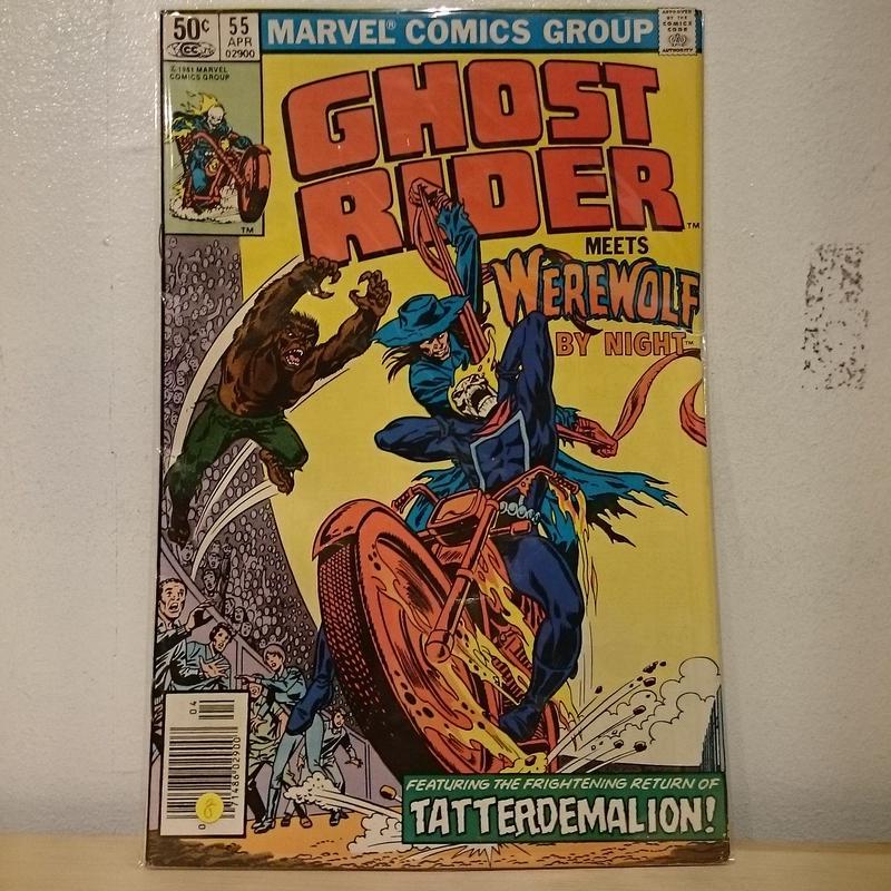 "MARVEL COMICS ""GHOST RIDER""(8)"