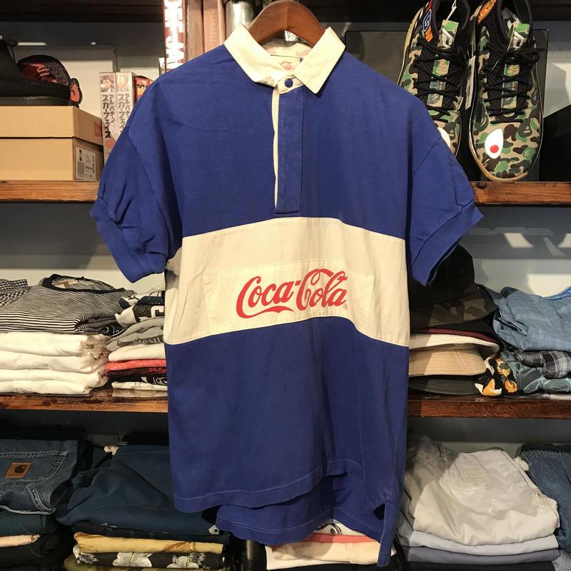Coca-Cola logo polo shirt (S)
