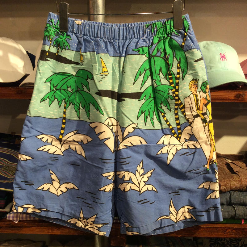 No brand  beach resort cotton shorts(L)