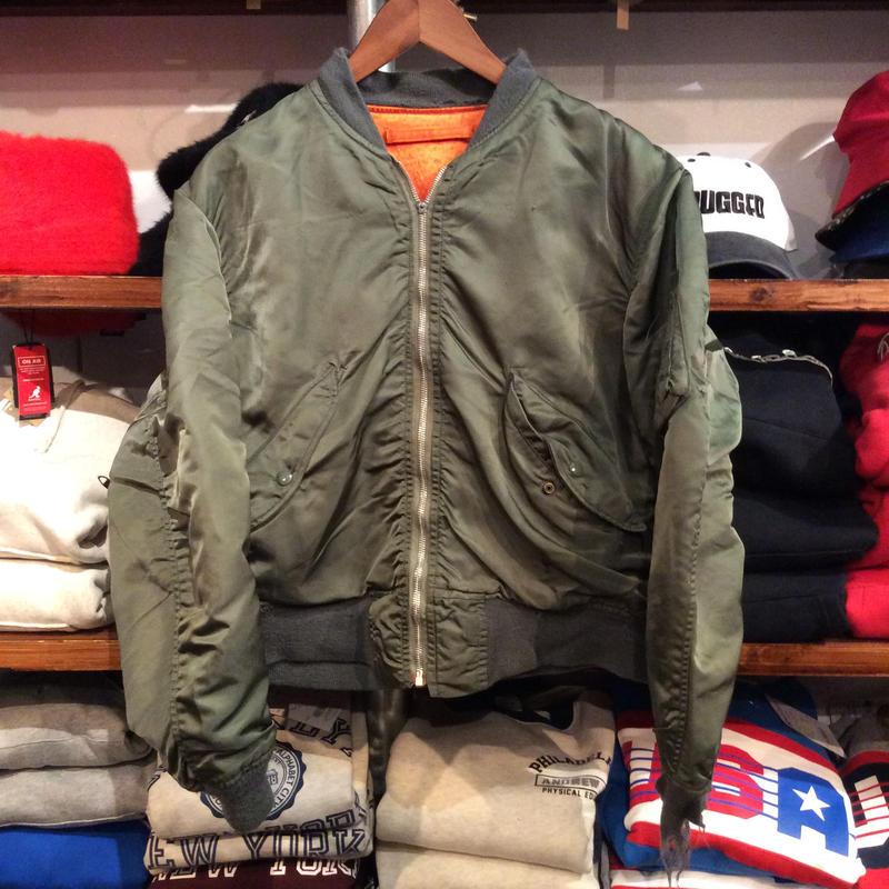 """ALPHA """"L-2B(1974)"""" military jacket (M)"""