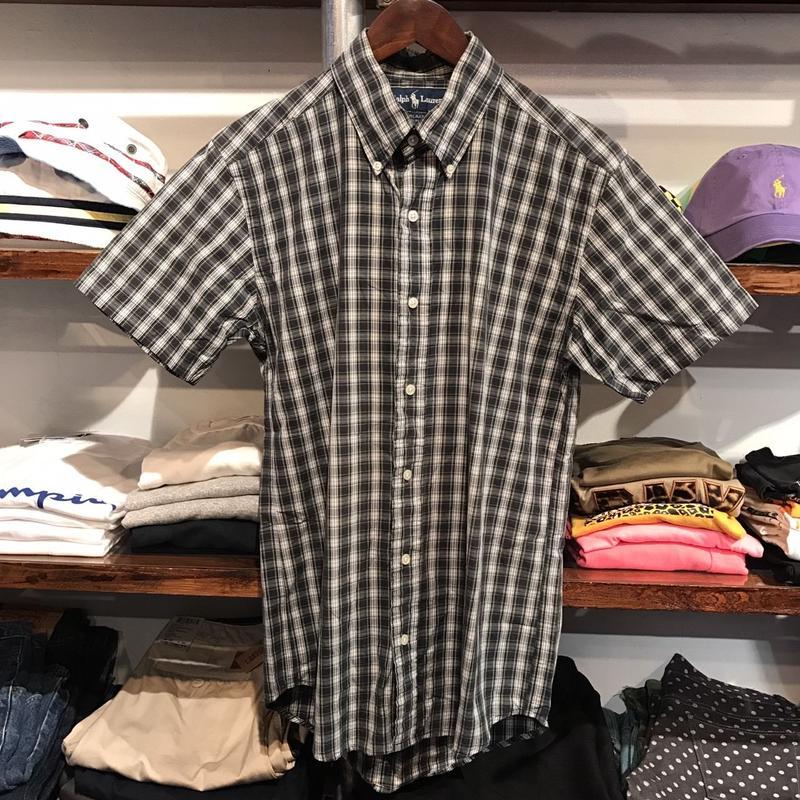 POLO RALPH LAUREN  B.D. S/S check shirt (M)