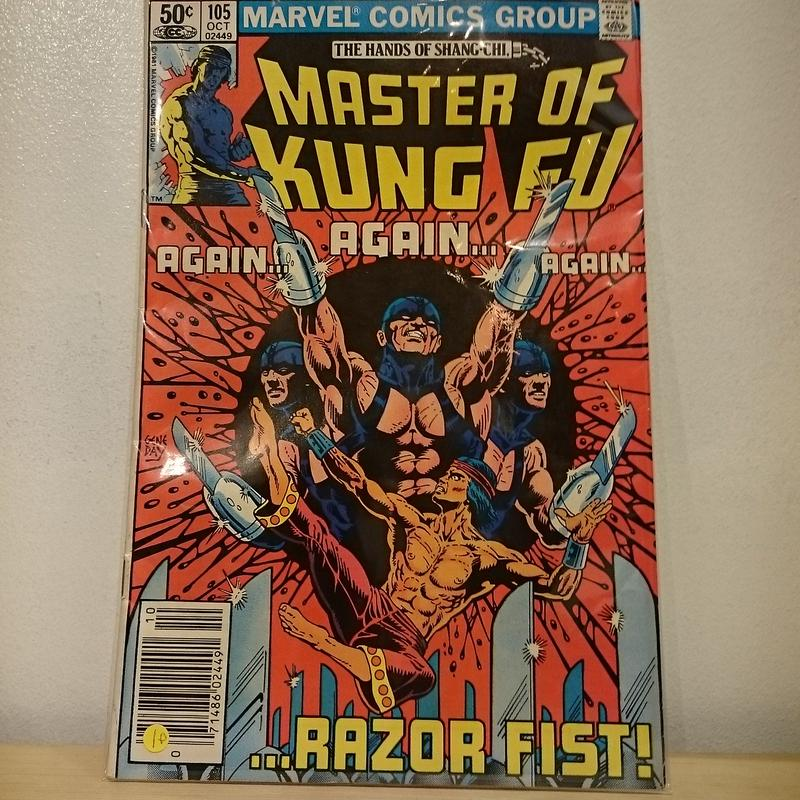 "MARVEL COMICS""MASTER OF KUNG FU""(10)"