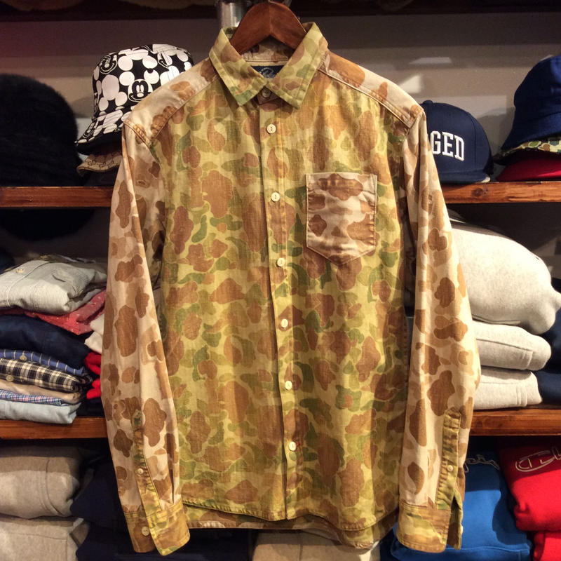 theholenine camo shirt