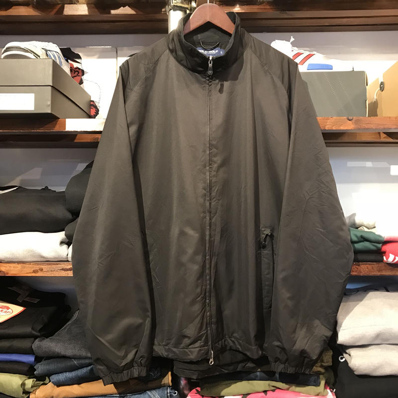 POLO GOLF full-zip nylon jacket (L)
