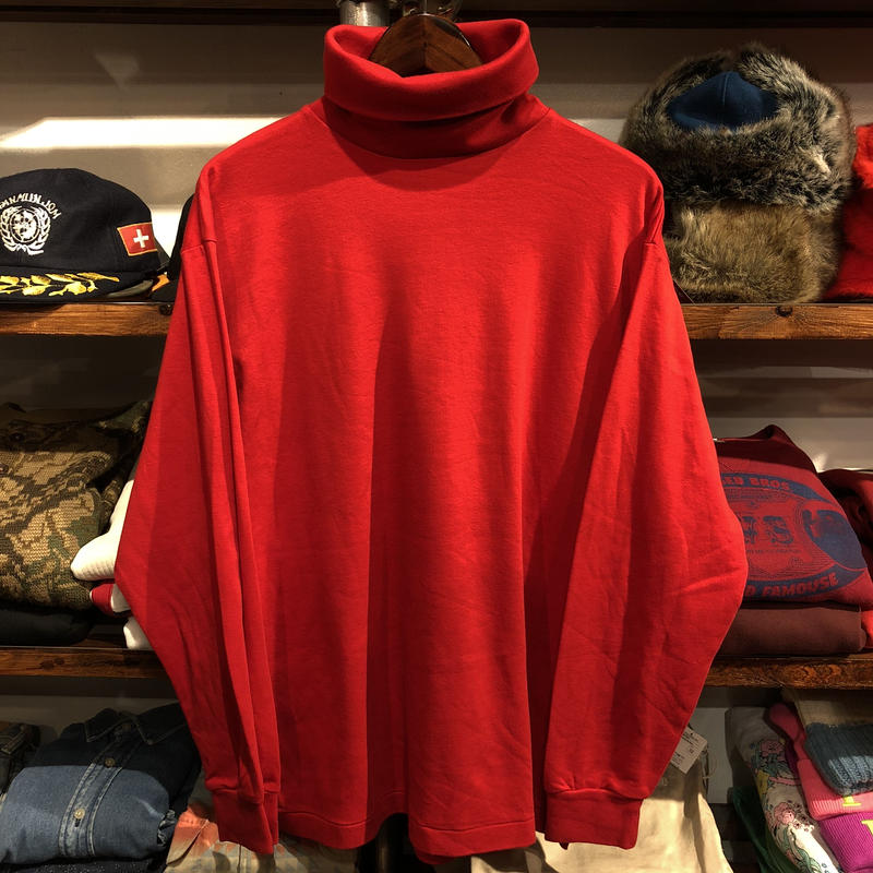 GAP turtle neck L/S tee(M)