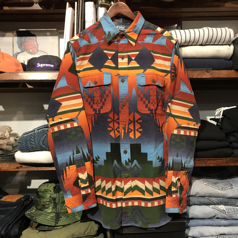 POLO RALPH LAUREN native shirt (S)