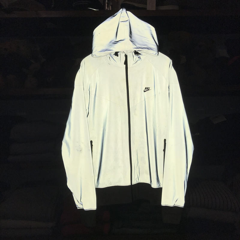 NIKE 3M reflective nylon jacket (XL)