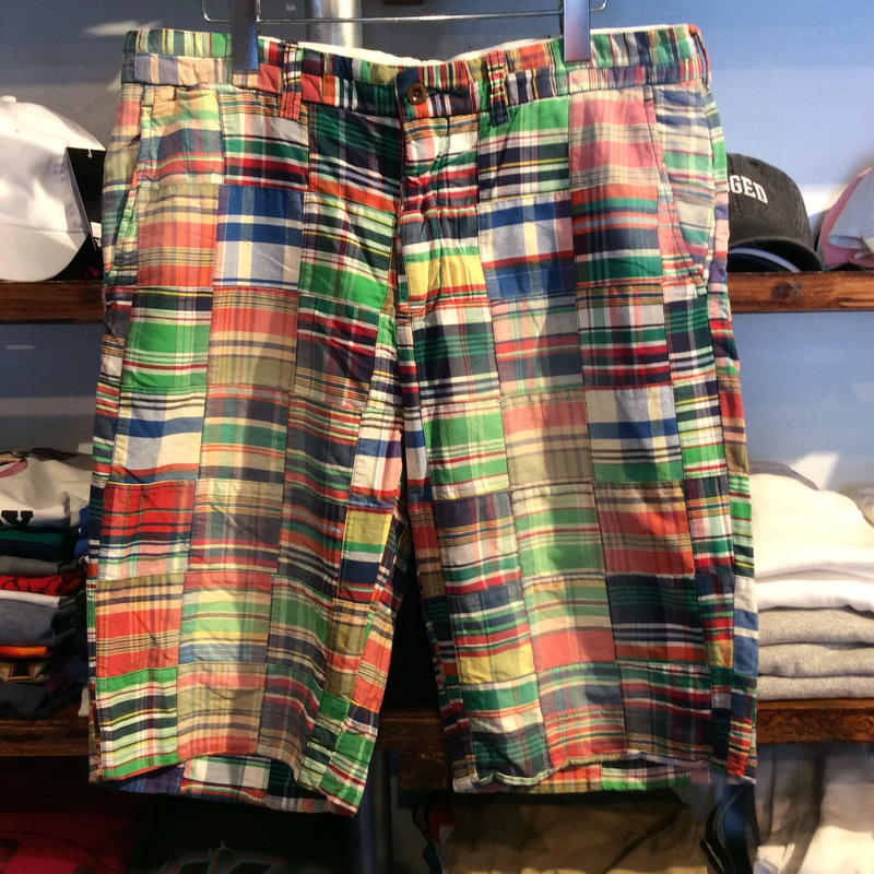 POLO RALPH LAUREN  patch work shorts