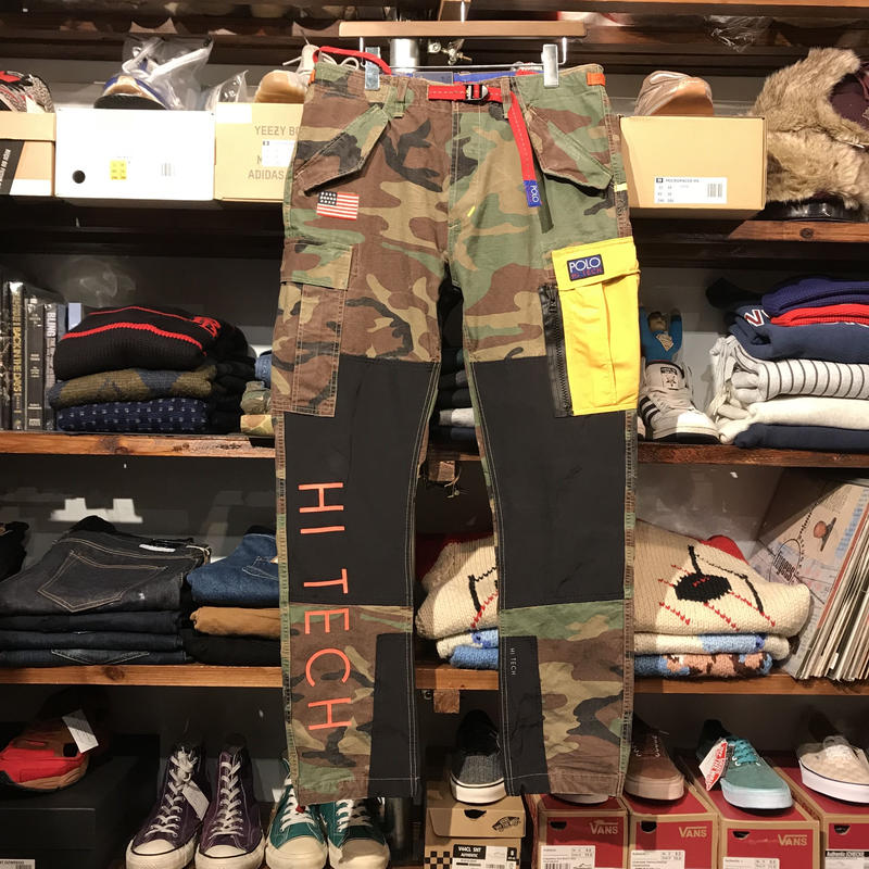 POLO RALPH LAUREN HI-TECH camo cargo pants (32)