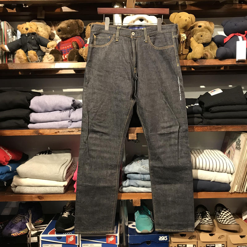DENIM BY VANQUISH & FLAGMENT wide straight denim pants