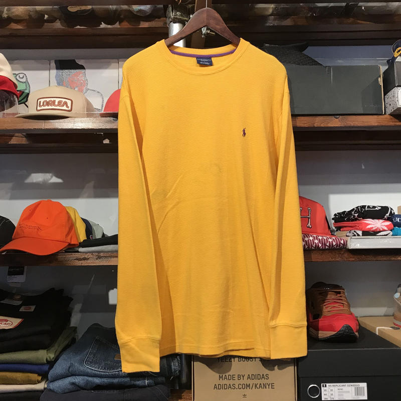POLO RALPH LAUREN sleep wear thermal L/S tee (L)