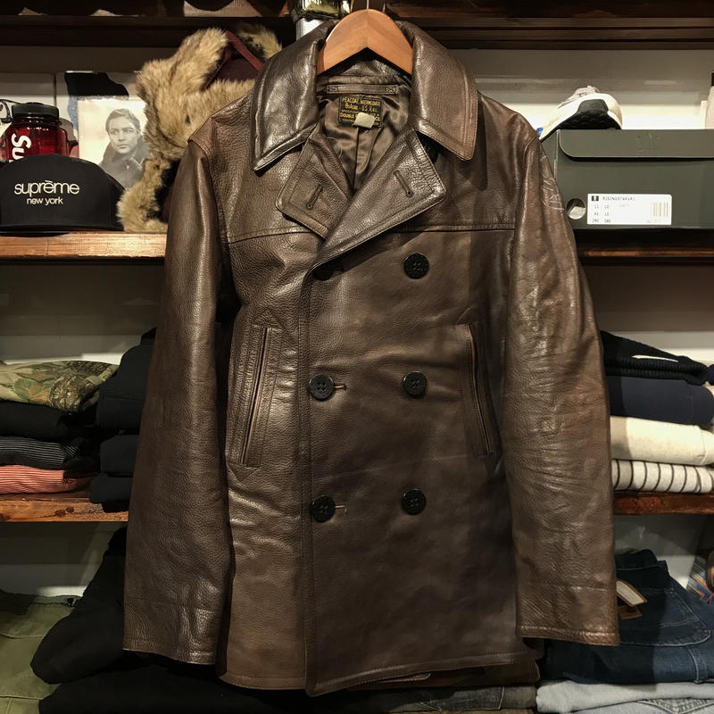 RRL leather jacket (S)