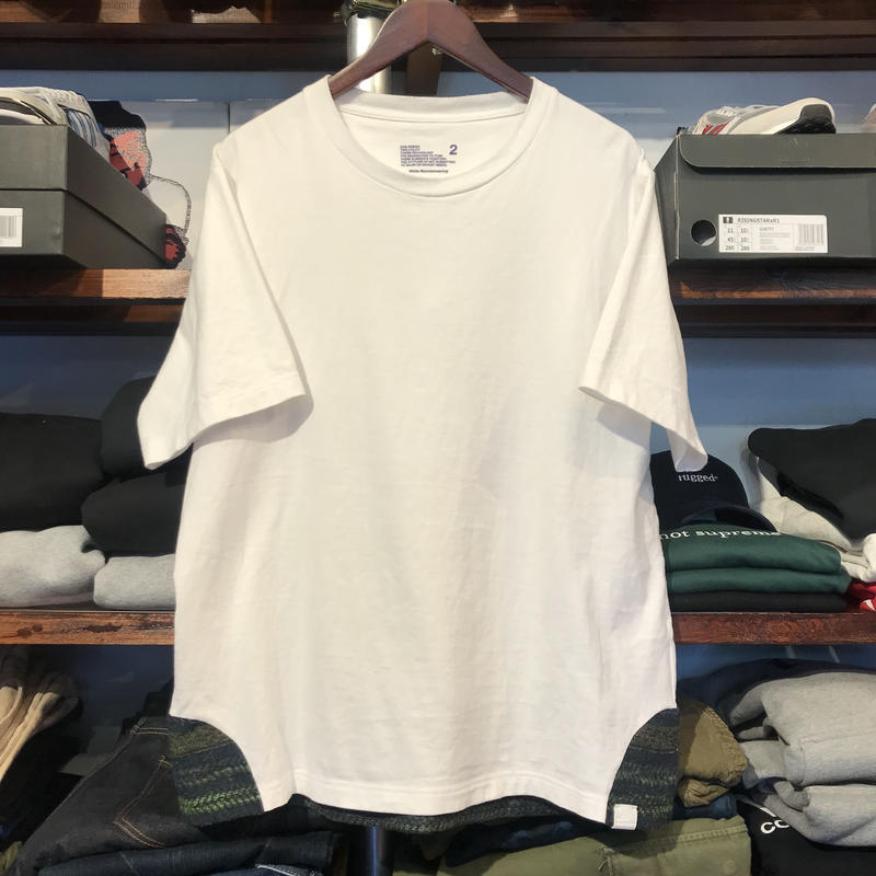 adidas white mountaineering S/S tee