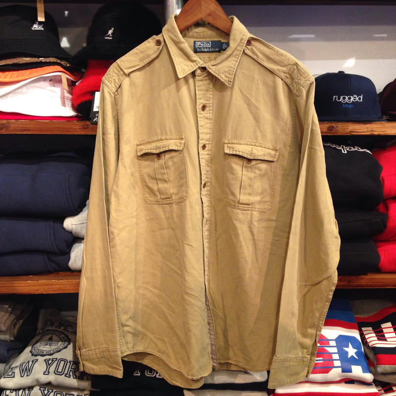 POLO RALPH LAUREN double Pocket shirt
