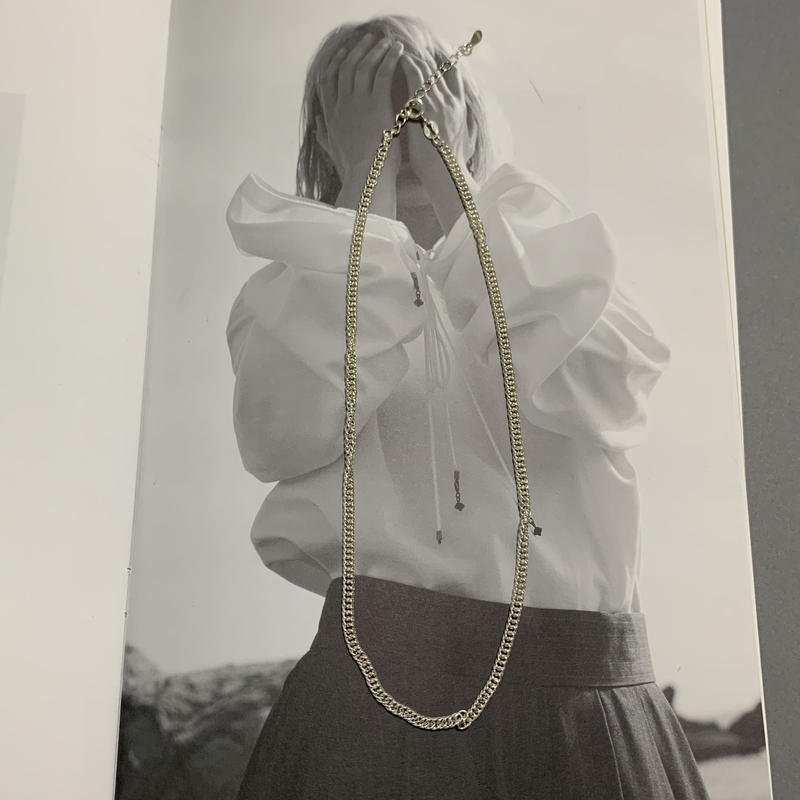 a type necklace