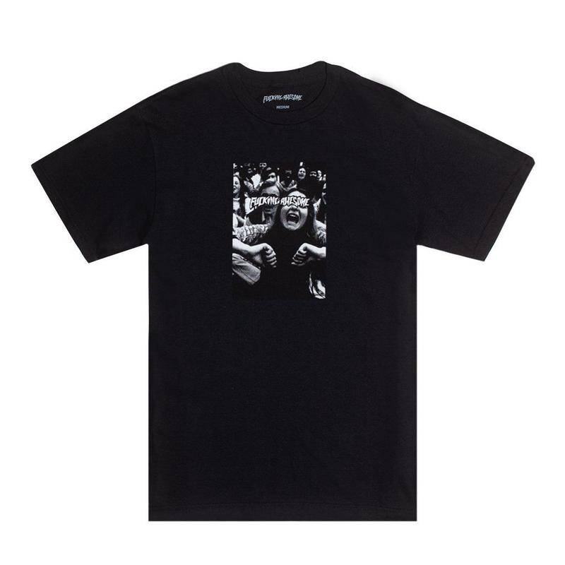 FUCKING AWESOME SCREAM TEE - BLACK