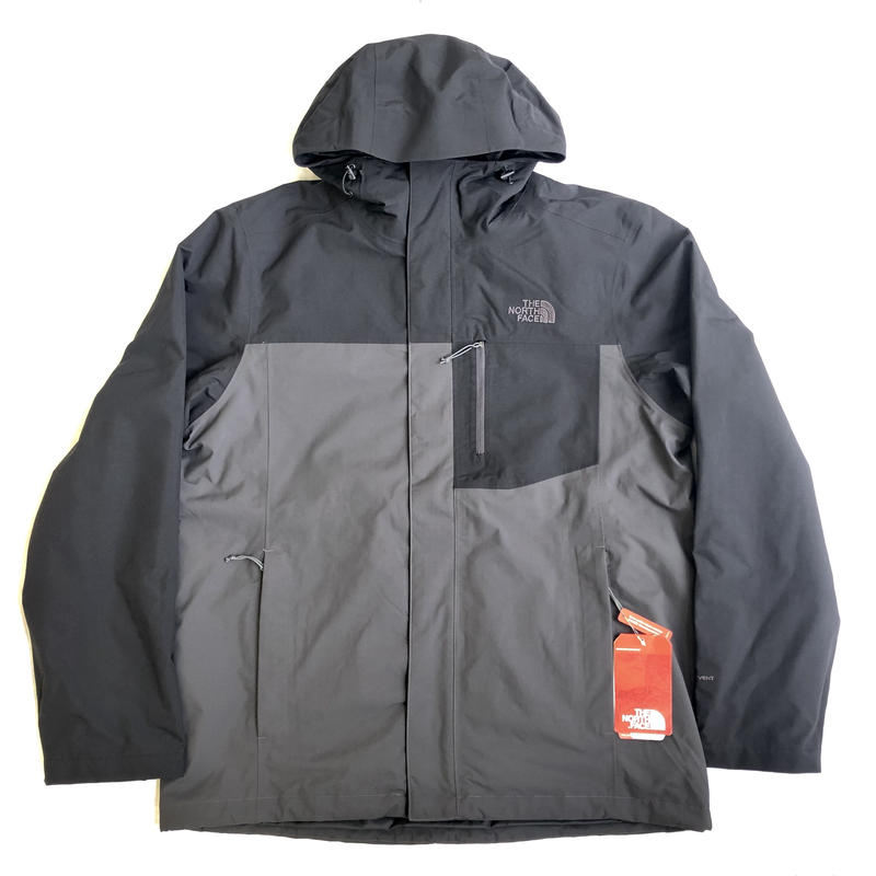 THE NORTH FACE ATLAS TRI JACKET - BLACK/GREY