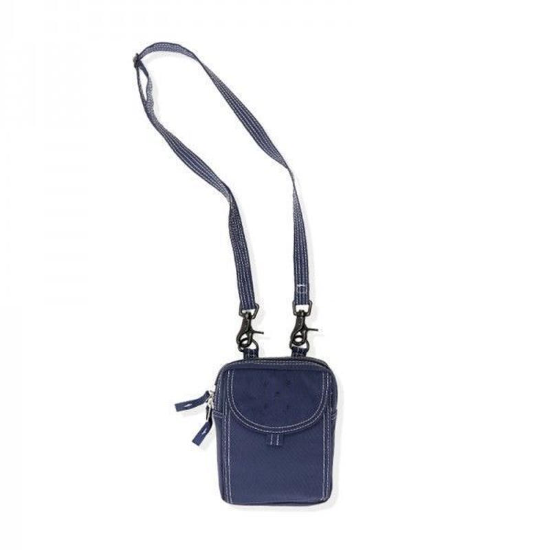 POP TRADING PASSPORT POUCH SPORTS NAVY