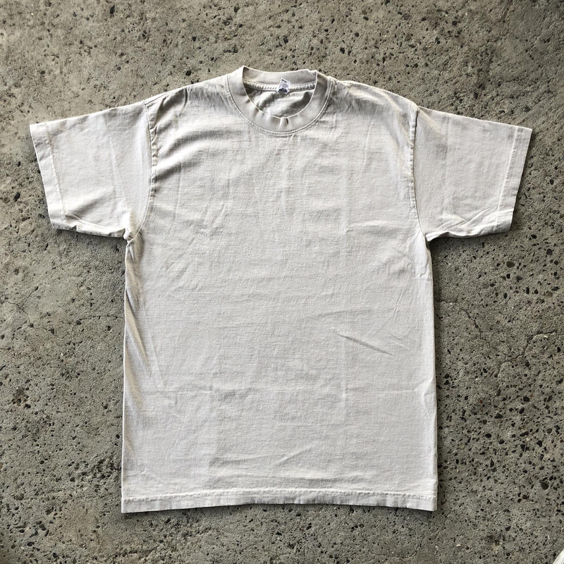 LOS ANGELES APPAREL 6.5oz Garment Dye Tee - Cement