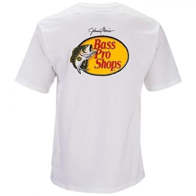 BASS PRO SHOPS LOGO TEE - WHITE