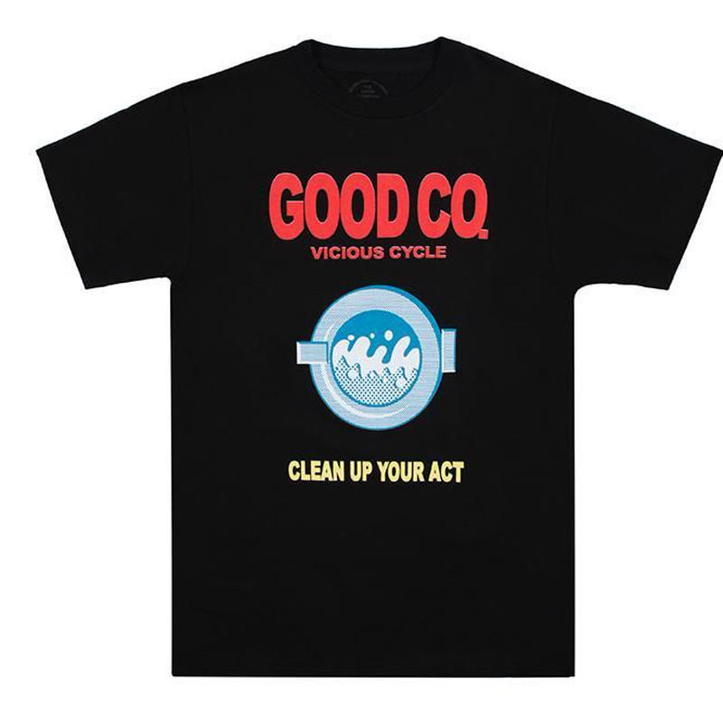 THE GOOD COMPANY CLEAN TEE - BLACK