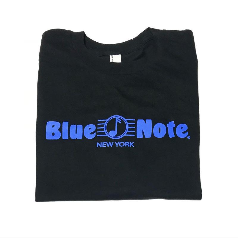 BLUE NOTE TEE - Black
