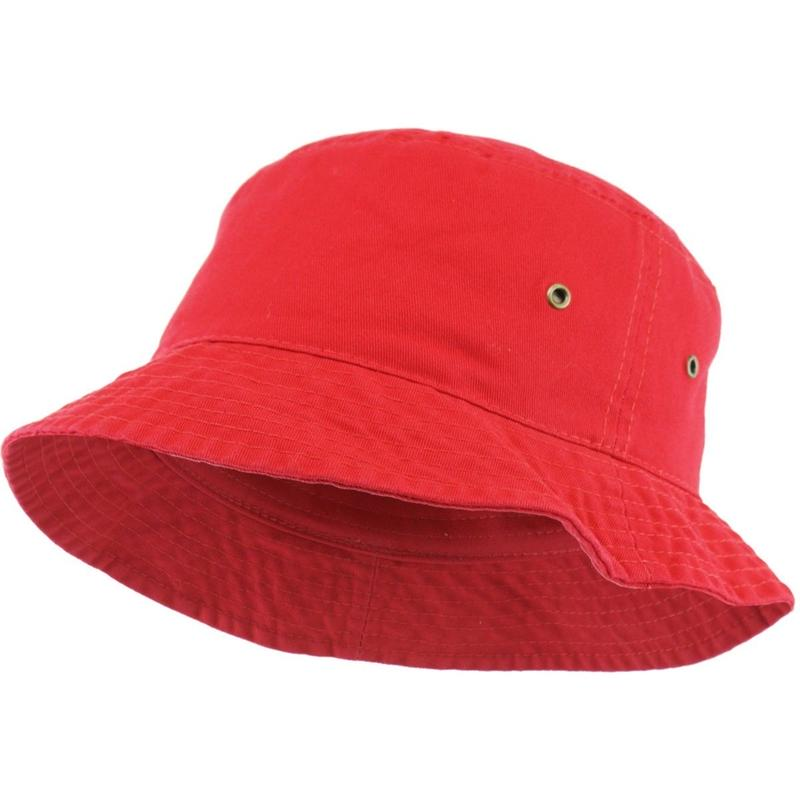 KB ETHOS Solid Bucket Hat - Red