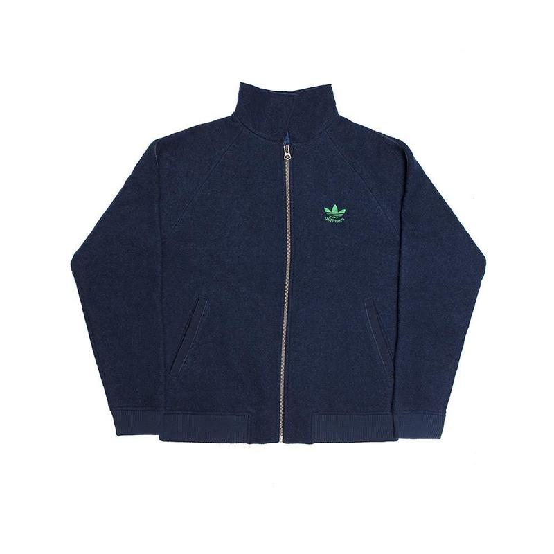 ALLTIMERS × ADIDAS BOILED WOOL JACKET - NAVY