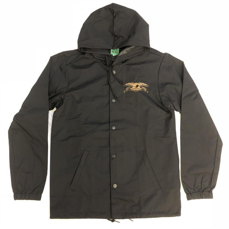 ANTI HERO  Stock Eagle Patch Windbreaker Jacket - Black