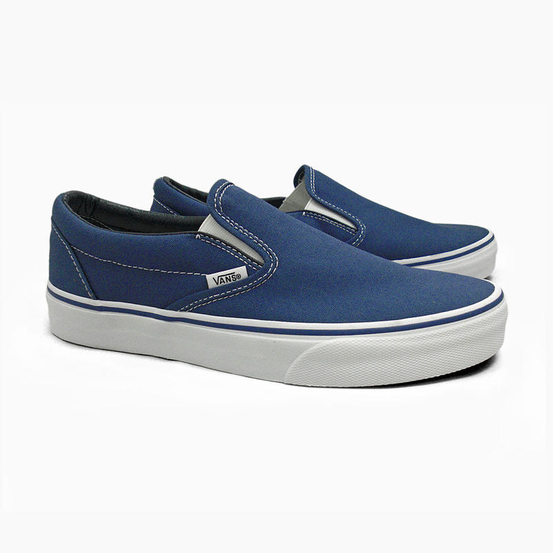 VANS SLIP ON - NAVY