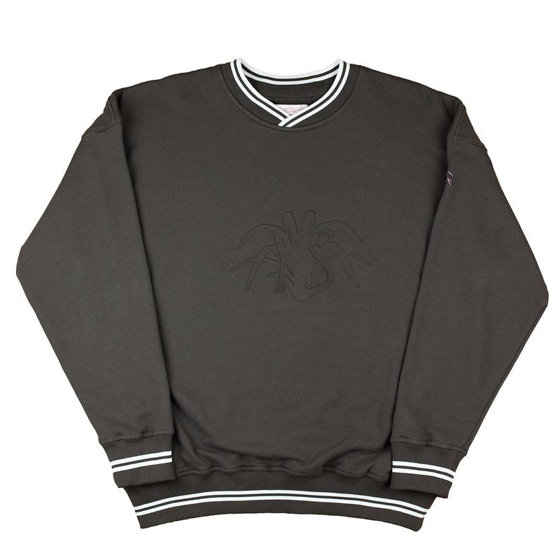 YARDSALE - YS EMBOSSED SWEATSHIRT - Charcoal