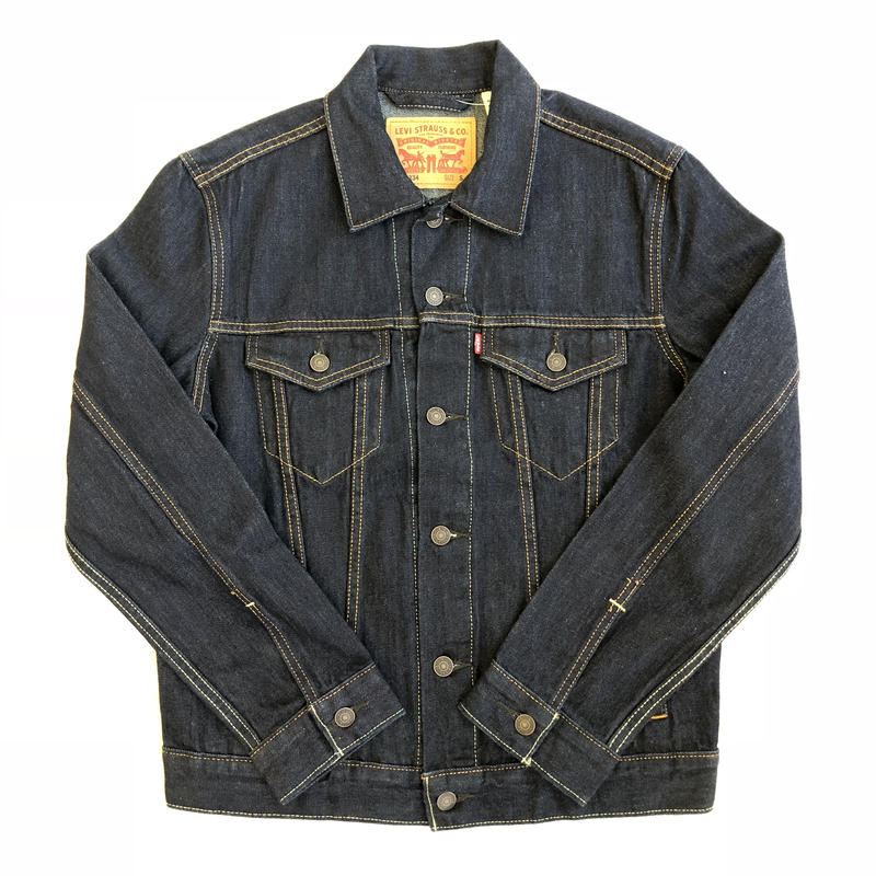 LEVIS DENIM TRUCKER JACKET - RINSE(0134)