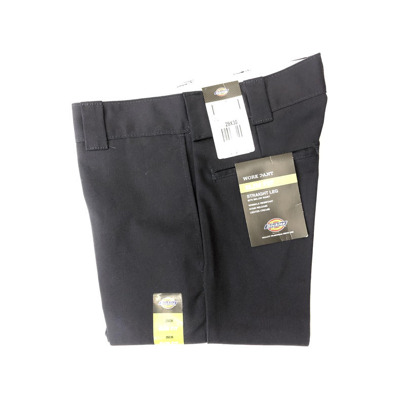Dickies Slim Fit 873 Work Pants -  Dark Navy