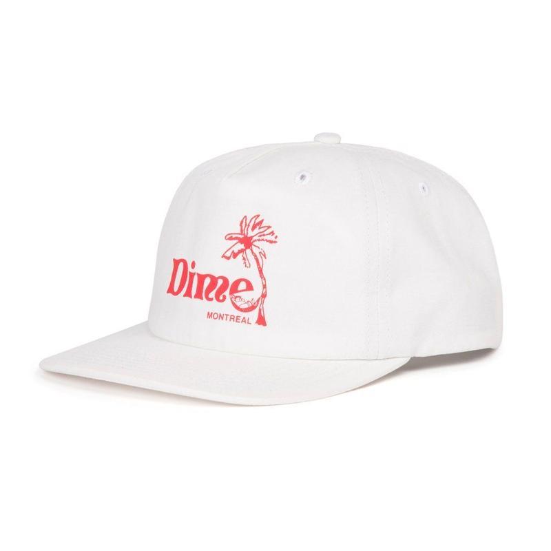 DIME ISLAND CAP - White