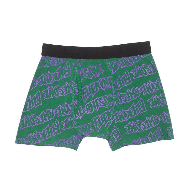 FUCKING AWESOME 2 PACK  BOXER BRIEFS - ASSORTED