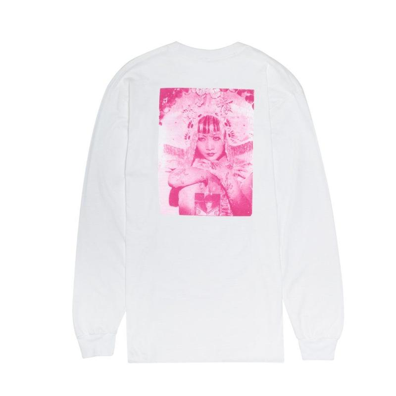 FUCKING AWESOME EVERYTHING SUCKS L/S TEE - WHITE/WITH