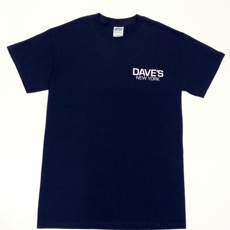 DAVE'S NEW YORK LOGO TEE - Navy