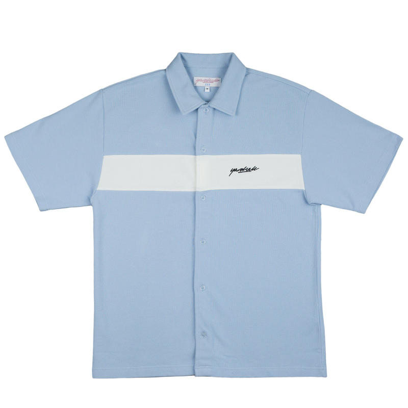 YARDSALE Club Shirt - Baby blue