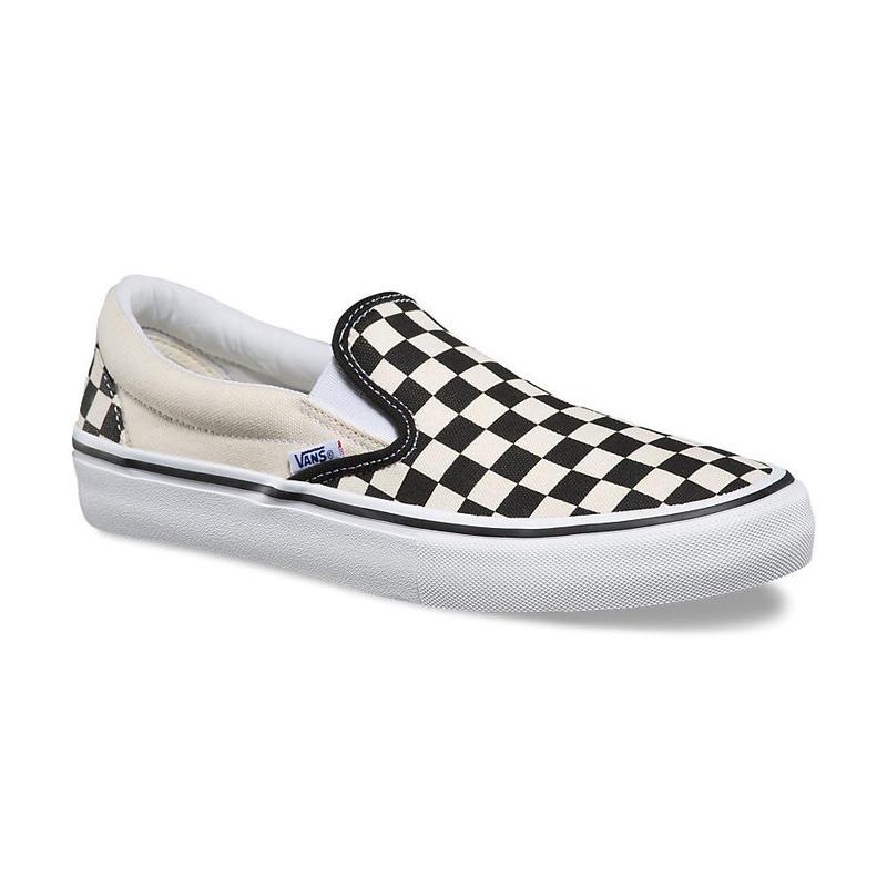 VANS SLIP-ON PRO - CHECKERBOARD BLACK/WHITE