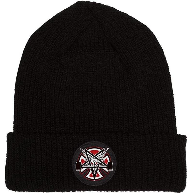 Independent x Thrasher Pentagram Cross Beanie - Black