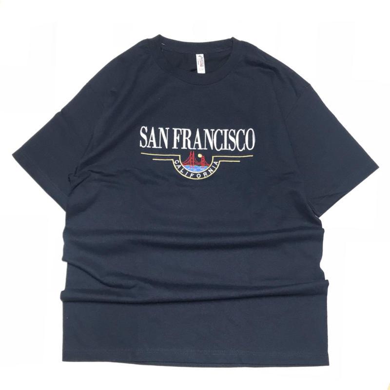SAN FRANCISCO  SOUVENIR CALIFORNIA TEE - NAVY
