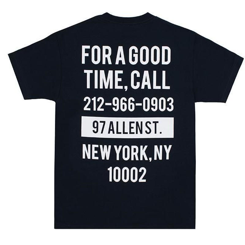 THE GOOD COMPANY GOOD TIME TEE - NAVY