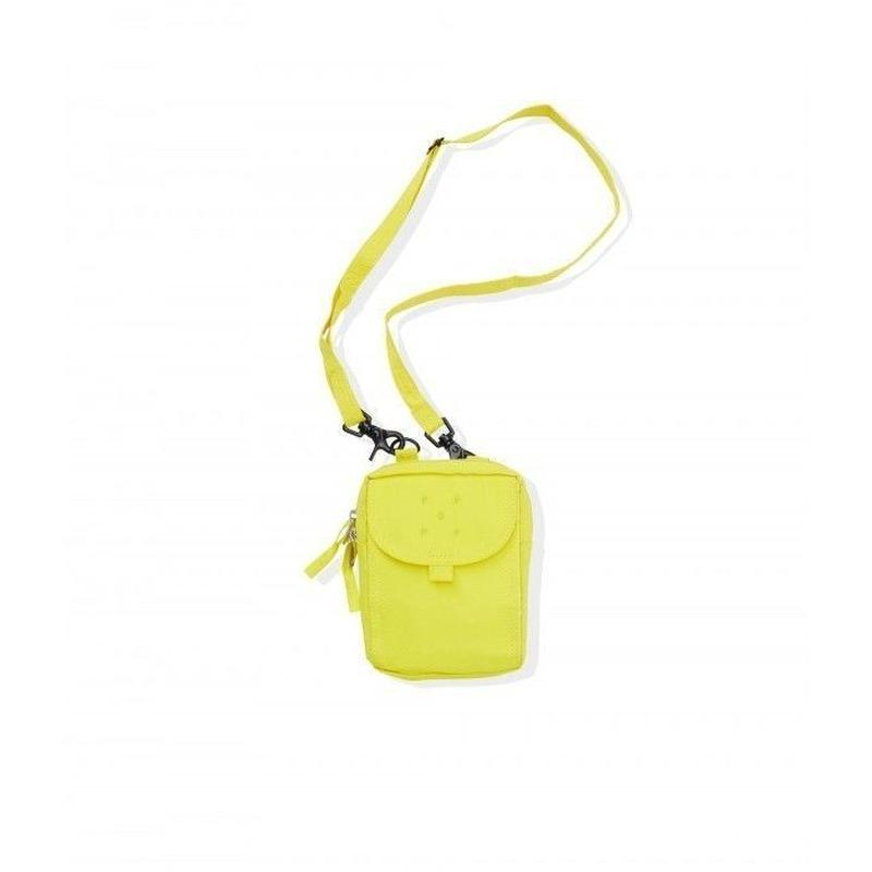 POP TRADING PASSPORT POUCH ELECTRIC YELLOW