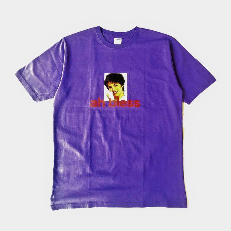 GRIND LONDON ah bless tee purple