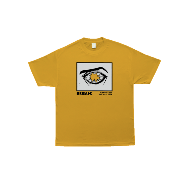 COME SUNDOWN BREAK S/S TEE - GOLD